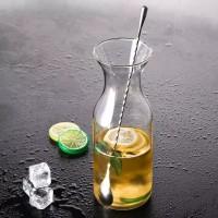 Long Bar Cocktail Spoon Stainless Sendok Penganduk Panjang Kopi Susu