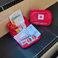P3K perlengkapan/tas P3K mini/Traveling first aid kit/Tas obat