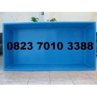 Bak Ikan / Kolam Fiber / Fiberglass / Penampung Air ( 2m x 1m x 50cm)