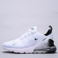 Sepatu Nike Air Max 270 White Black Spectrum Premium Original