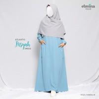 Aisyah Dress Gamis Woolpeach by Elmina Hijab