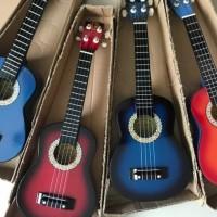 Gitar Ukulele Kentrung/Akustik/Gitar Kecil Senar 4 /Gitar anak