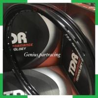 SYS2 VELG TDR ER SHAPE RING 17 UKURAN 140 BLACK TDR RACING