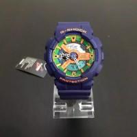 Jam Tangan Pria Casio G-Shock GA-110 FC Navy Blue Combine Original BM