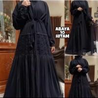 Baju Abaya Bordir Gamis Maxi Dress Arab