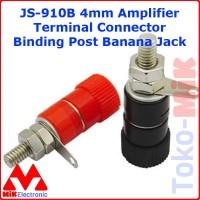 JS-910B 4 mm Binding Post Banana Socket Konektor Speaker Amplifier