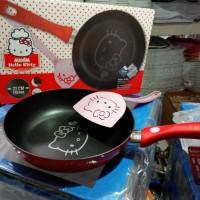 Frying Pan Maxim 22 cm Hello Kitty Wajan Penggorengan Teflon Panci
