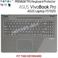 Restock Keyboard Protector Asus Vivobook Pro F570Zd - K PYR