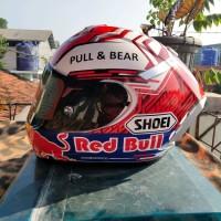 Helm ink cl max repaint shoei redbull