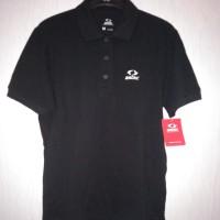 Original 100 % Kaos Kerah Polo Shirt Men ASTEC Cotton-Black