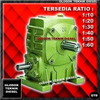 AMW SPEED REDUCER GEAR BOX WPA 40 Ratio 10 - 60