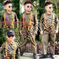 baju pilot tempur anak/kostum anak/baju profesi anak/baju anak