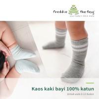 Kaos Kaki Bayi 100% Katun   Freddie the Frog