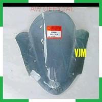 AW MIKA VISOR WINDSHIELD VIXION 2013 2014 HITAM TRANSPARAN SMOKE