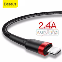 KABEL DATA IPHONE BASEUS CAFULE CABLE FOR LIGHTNING 2.4A 1M