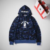 hoodie bappe pria miror clonen original barang super