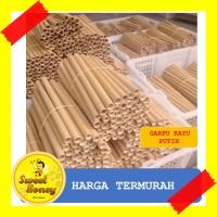 Sedotan Bambu Medium 1 kg isi 100 pcs ( Bamboo Straw )