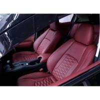 Sarung Jok Mobil AUDI A4 Otomotifku Bahan FERARI Murah Berkualitas
