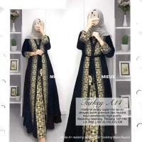 baju wanita abaya turkey#3