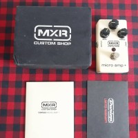 Efek Gitar MXR Custom Shop Micro Amp Plus