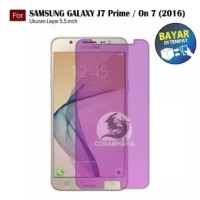 TEMPERED GLASS BLUE RAY SAMSUNG J7 PRIME - ON 7 - SCREEN GUARD