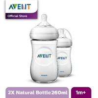 AVENT Bottle Natural 2.0 Twin Pack - 260ml SCF693/23 SCF693