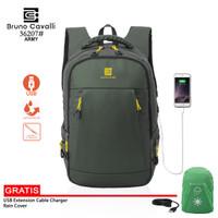 Bruno Cavalli Backpack Light Edition 2.0 Fit laptop 15,6 - 36207 - Hijau