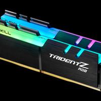 RAM Gskill DDR4 TridentZ RGB PC28800 32GB (2x16GB) F4-3600C17D-32GTZR