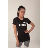 Baju Olahraga Wanita Puma VNeck 03PMT008|Kaos Lari Fitness Cewe Murah