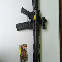 mainan kokang dcobra spring d'cobra m416 ar 15 hk 416 ar-15 m4 lospack