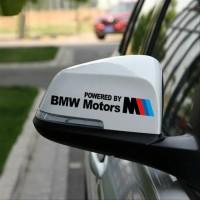 Sticker BMW Motor Sport Spion Mirror 2pcs