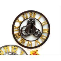 Jinte - jam dinding clock unik artistik industrial dekorasi interior