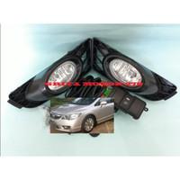 Fog Lamp Lampu Kabut Honda Civic FD 2009 2010 2011 Komplit Kabel Set