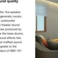Best Seller Pioneer Soundbar Sbx 101 Sbx101 With Wireless Subwoofer