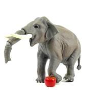 Terpopuler ! Figur Miniatur Tomica Ania AS-33 Indian Elephant Qlt