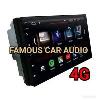 Headunit ddin Android Universal AVT DAV 6767 4G MURAH