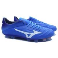 Sepatu Bola Mizuno Rebula 2 V1 (Brilliant Blue/White)