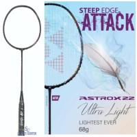 New Color Raket Badminton Yonex Astrox 22 Black Magenta 2F5