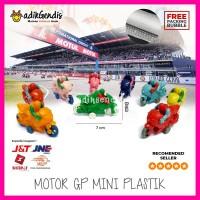 Motor GP balap plastik mini Jadul 90an Mainan Edukasi APE