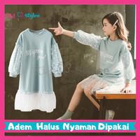 Baju Pakaian Fashion Gaun Dress Anak Perempuan Cewek Import Murah DT5