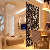 Penyekat pembatasan ruangan bahan pvc hiasan dekorasi rumah unik L.150