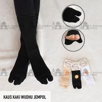 Kaos Kaki Wudhu Jempol (WUPOL) atau Kaos Kaki Wudhu SOKA - WUPOL Hitam
