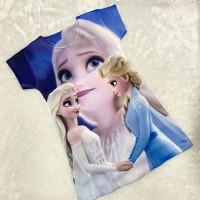Dress anak karakter frozen / baju anak elsa anna