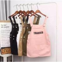 jumper overall dress mini baju outer luaran kodok wanita anak remaja