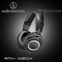 Audio Technica ATH-M50X Professional Monitor Headphone ATH M50X