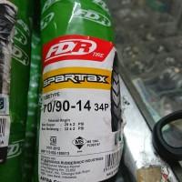 Ban FDR Spartax 70/90 ring 14 ban luar motor matic beat vario mio