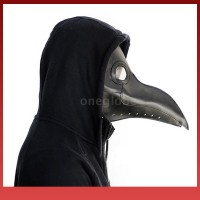 Ra O Dan G Topeng Plague Doctor Bahan Kulit Imitasi untuk