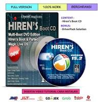 Hirens Boot CD 15.2 dan DriverPack Solution 14