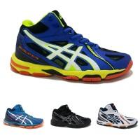 Sepatu Olahraga Voli Asics Gel Elite Premium Pria Volley Cowok Runni
