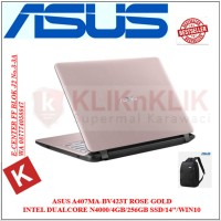 Laptop ASUS VivoBook A407MA-BV423T ROSE GOLD DUALCORE N4000-4GB-256G